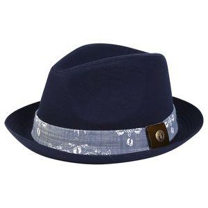 Hang Ten Fedora Hat (Navy)